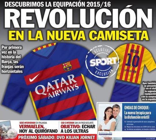 Leaked Barcelona Kit 2015 2016