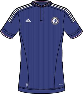 Leaked Chelsea Home Jersey 15 16