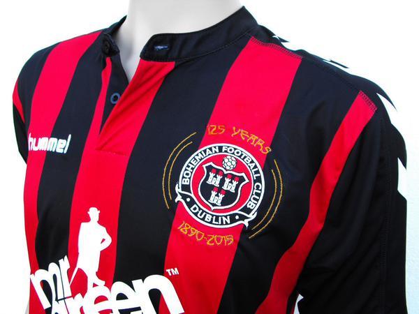 New Bohemians FC Jersey 2015