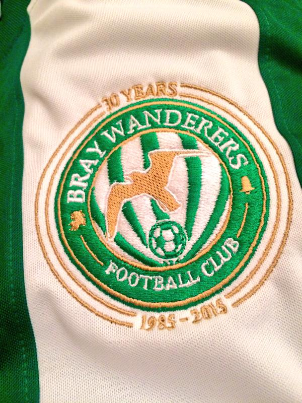 New Bray Wanderers Crest 2015