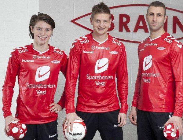 SK Brann Rubber Soccer Jersey 2015