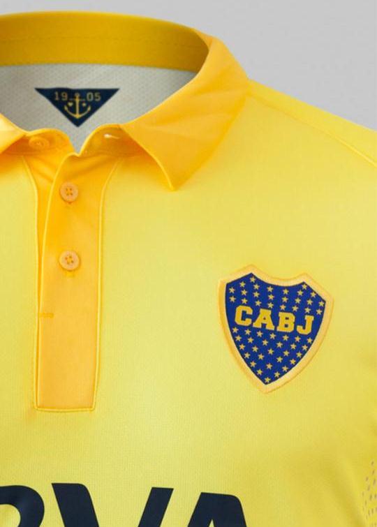 Amarillo Boca Camiseta 2015