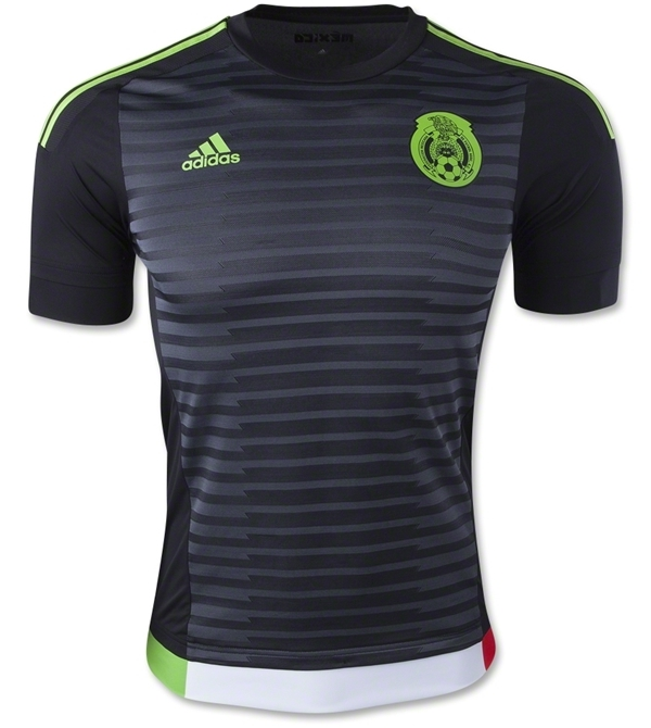 black mexico soccer jersey 2015 home new mexico copa