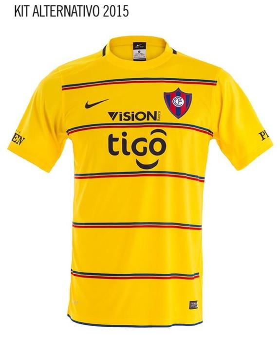 Cerro Porteno Away Shirt 2015