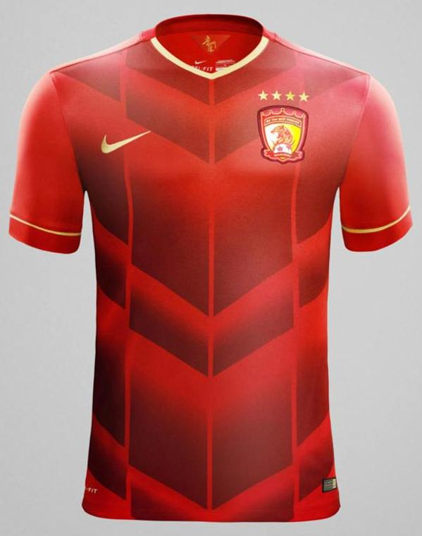 Jersey Guangzhou Evergrande New