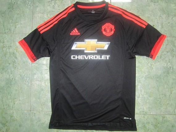 Leaked Manchester United Adidas Kit 15-16- MU Home Away Black ...