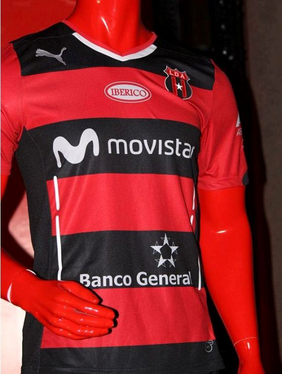 Liga Deportiva Alajuelense Alternate Kit 2015