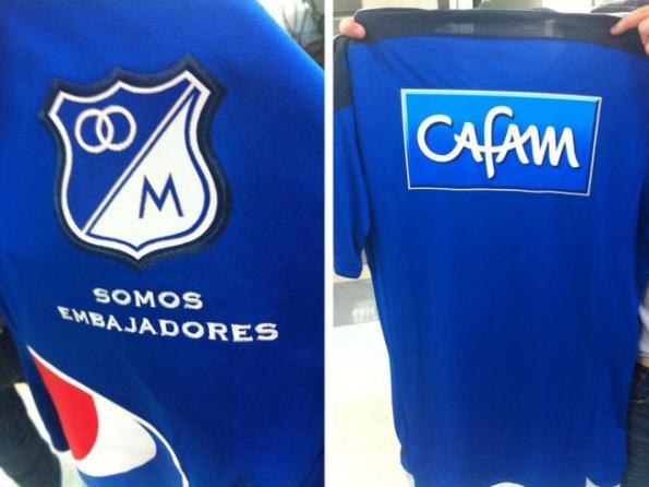 Millonarios Soccer Jersey 2015