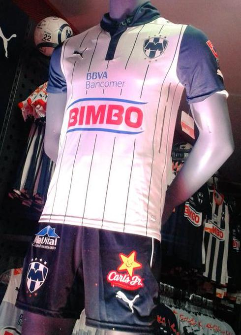 New Monterrey Third Jersey 2015