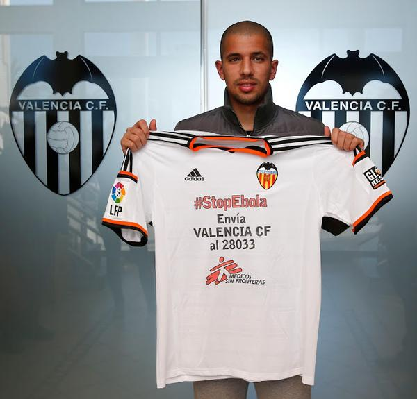 Valencia Stop Ebola Jersey vs Real Madrid- Doctors Without