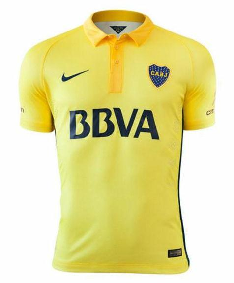 Yellow Boca Juniors Jersey 2015
