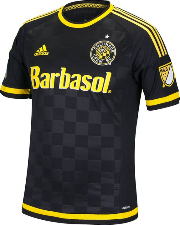 a98deab1369 New Columbus Crew 2015 Jersey- Crew SC Kits 2015 MLS Home Away ...