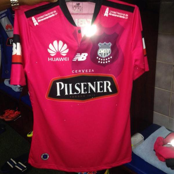 Emelec Away Shirt 2015
