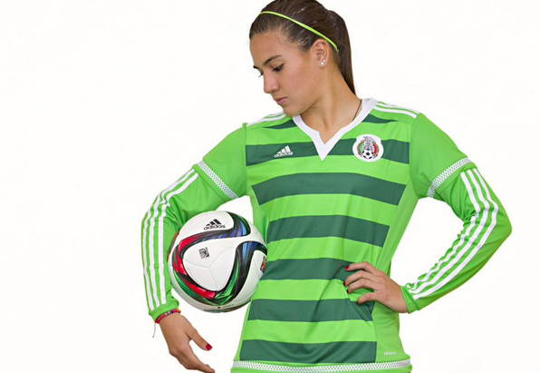 Femenil Mexico Uniform 2015