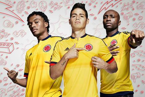 Indumentaria Colombia Copa 2015