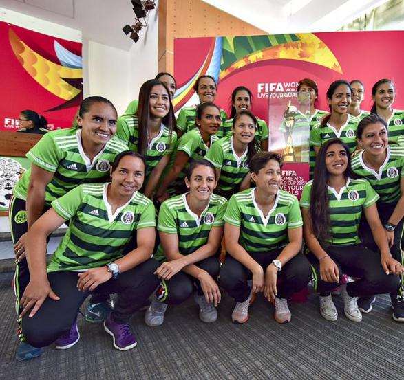 Mexico Womens World Cup Kit 2015