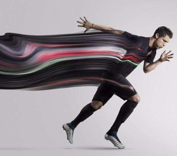 Black Portugal Jersey Ronaldo 2015