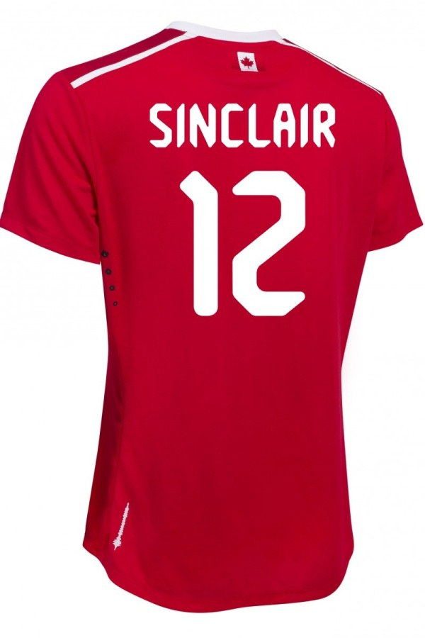 Canada Soccer Jersey Number Font 2015