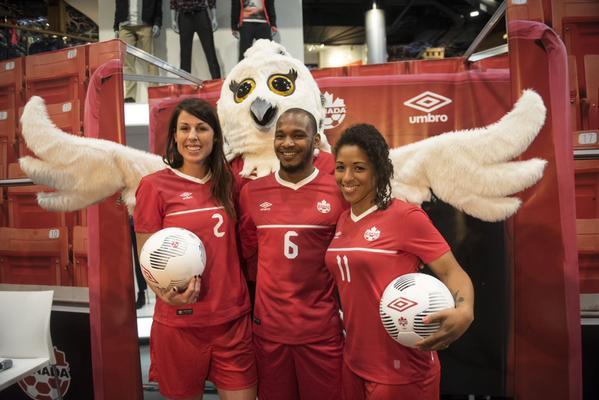 Canada Soccer Kit 2015