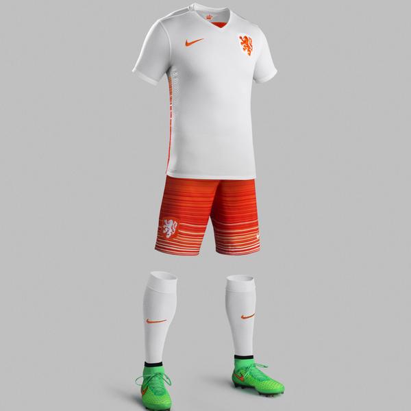 Netherlands Away Jersey 2015 16