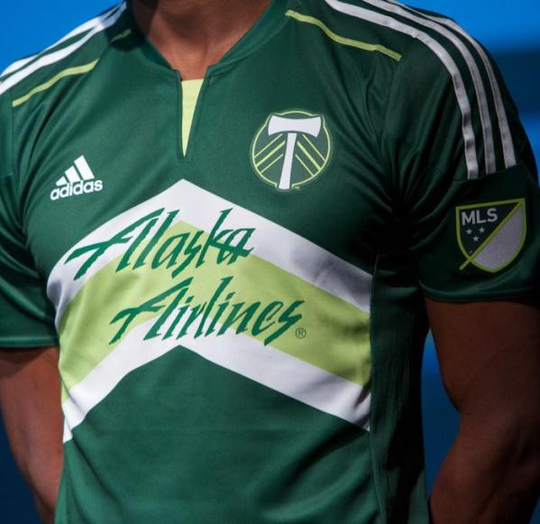 9e8562a498a New Portland Timbers Jersey 2015- Adidas Timbers MLS Home Kit 2015 ...