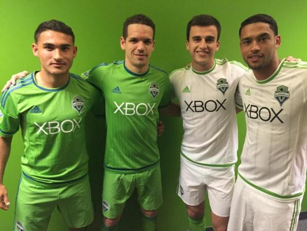 New Seattle Sounders Jersey 2015
