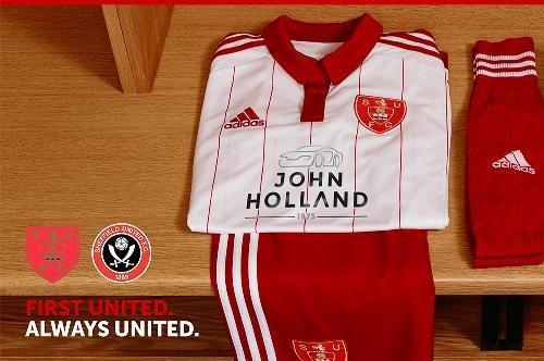 New Sheff Utd Home Kit 15 16
