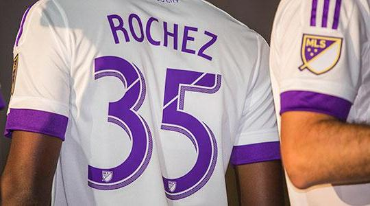 Orlando City Away Jersey Back