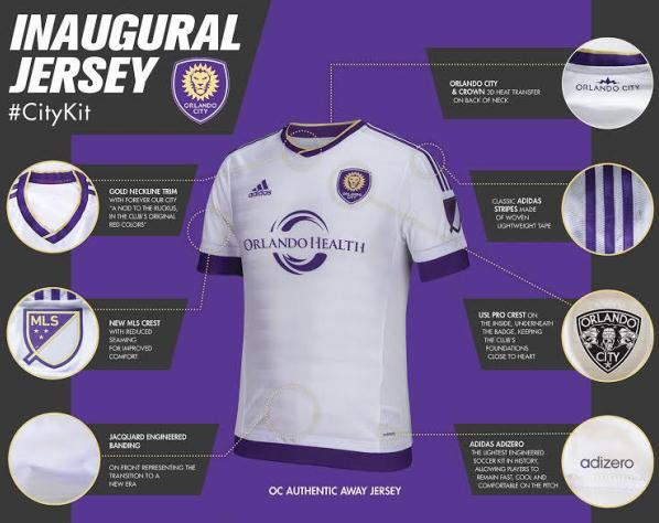 Orlando City Away Kit 2015