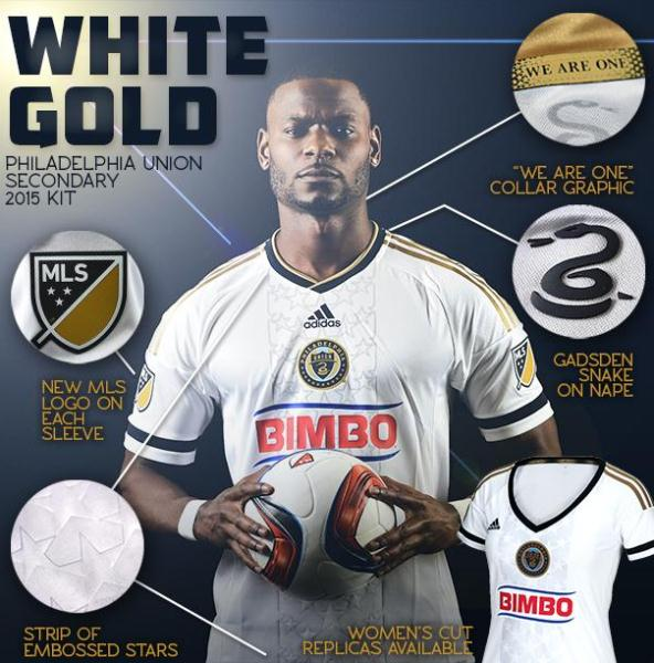 Philly Union Secondary Jersey 2015