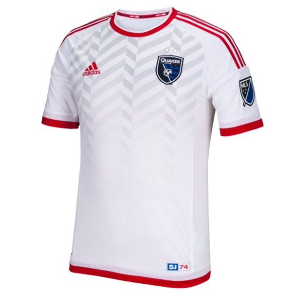 49cc3521656 San Jose Earthquakes Away Kit 2015- Adidas SJ Earthquakes New Alternate  Jersey 2015