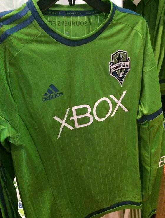 Seattle Sounders Home Jersey 2015