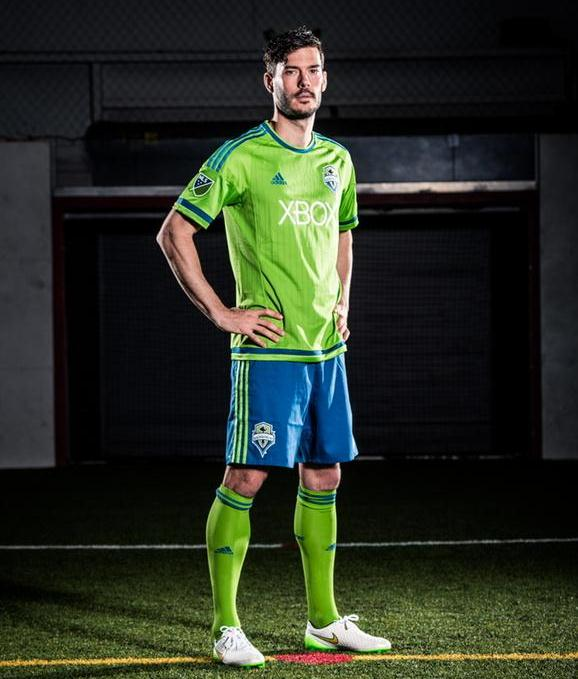 Seattle Sounders Home Kit 2015