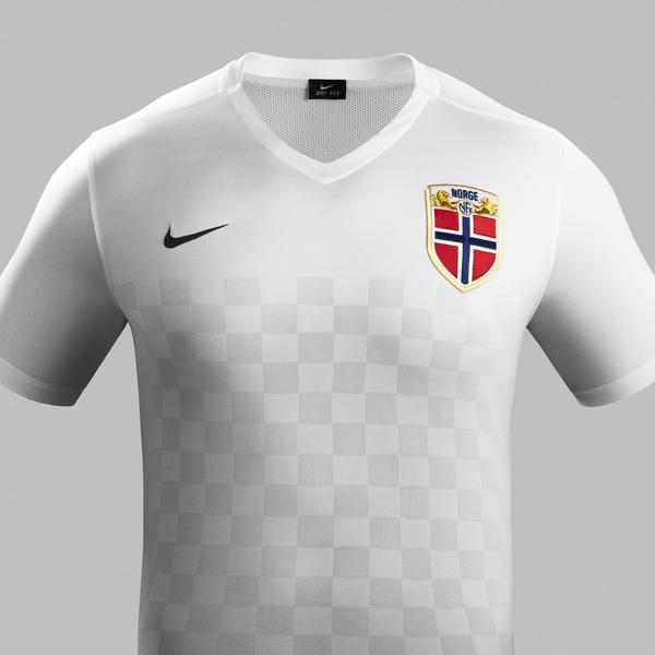 White Norway Football Shirt 2015 2016