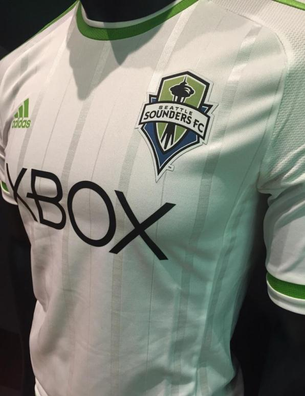 White Sounders Jersey 2015