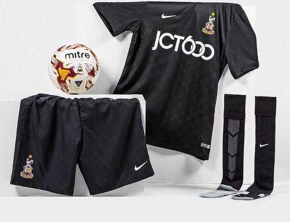 Bradford City Away Kit 15-16