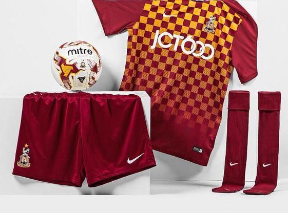 Bradford City Home Shirt 2015 2016