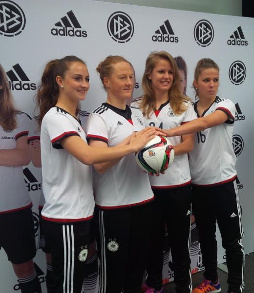 Germany Womens Football Jersey 2015
