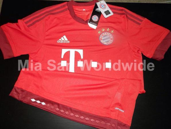 Leaked Bayern Munich Home Jersey 15-16 by Adidas  8aa731871