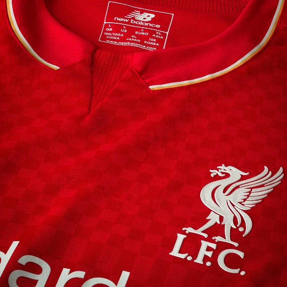 bec5b8cb955 New Liverpool Home Kit 15-16- LFC Home Top 2015-2016