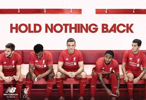 Liverpool New Balance Kit 2015 16