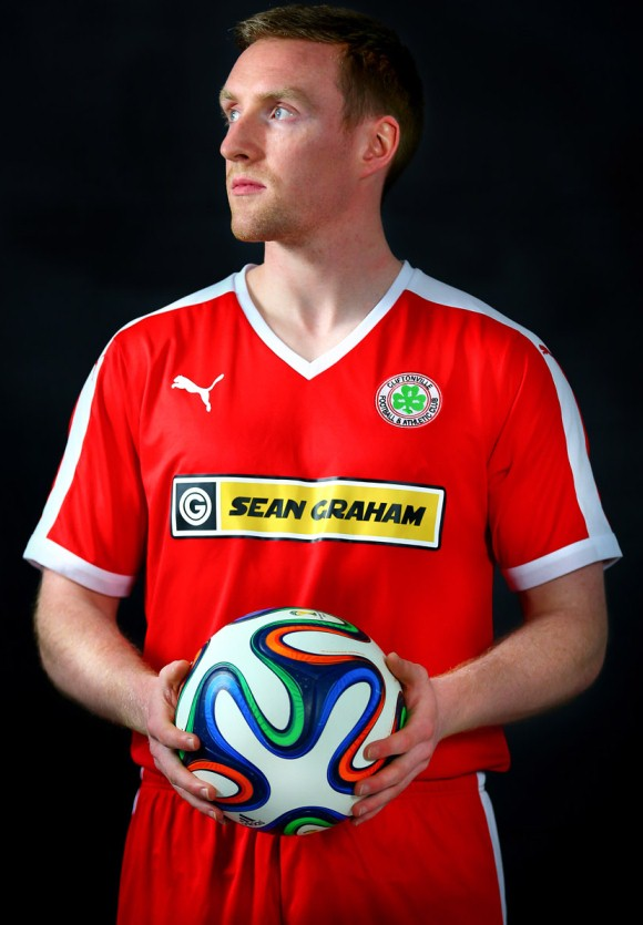 New Cliftonville FC Jersey 2015 16