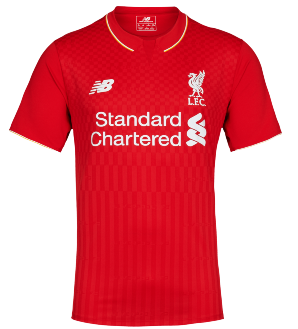 New Liverpool Home Kit 15 16