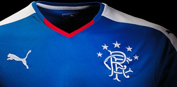 New Rangers Home Shirt 2015 16