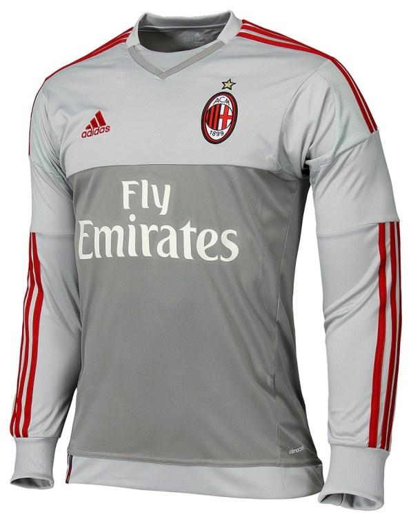 AC Milan Goalkeeper Jersey 2015 2016