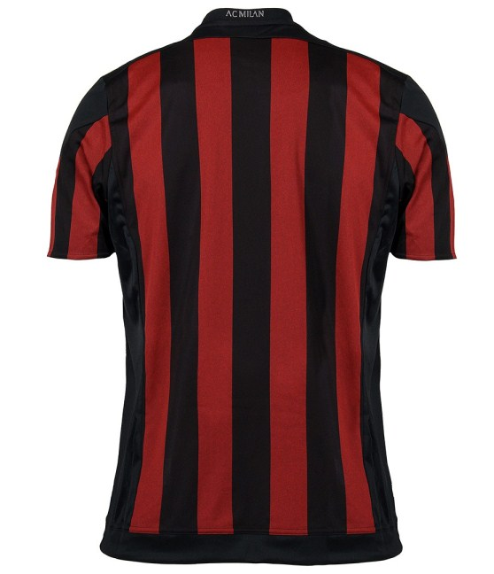 AC Milan Home Jersey 2015 16 Back