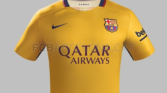 Barca Away Top 2015 16