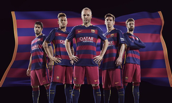 Barcelona Home Kit 15 16