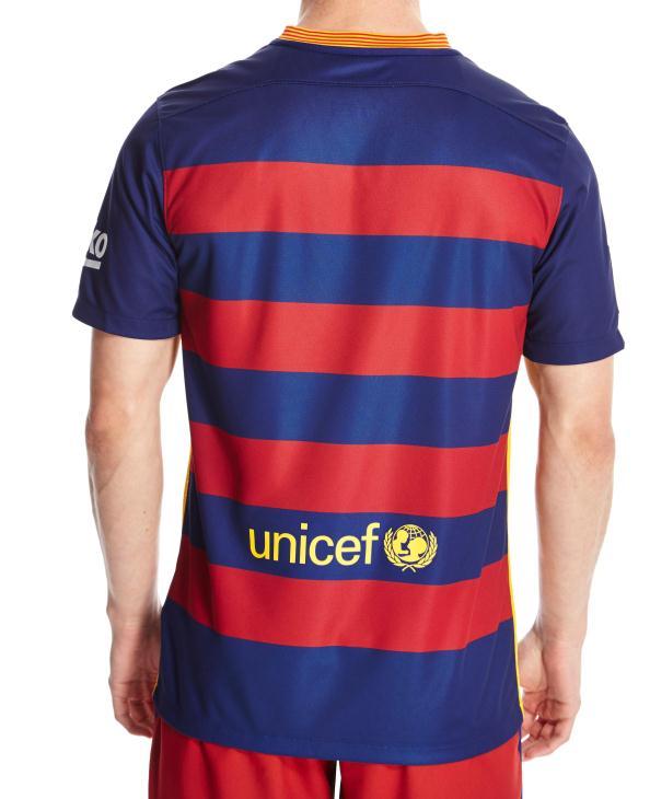 Barcelona Home Shirt Back
