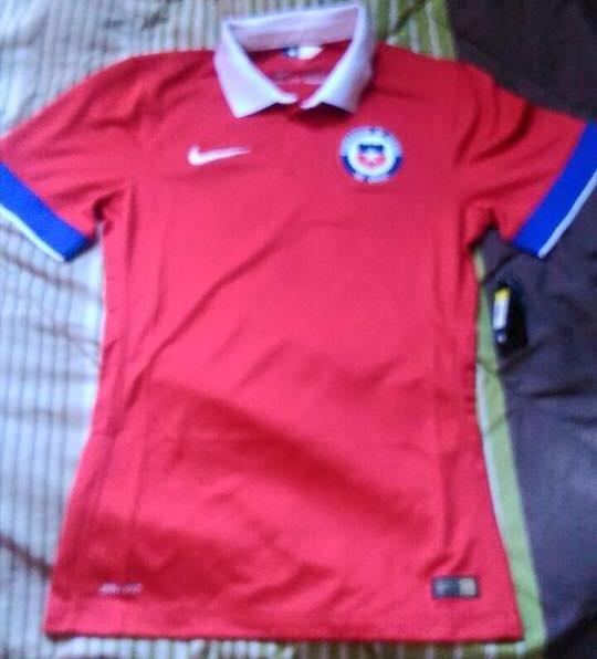 Camiseta Chile Nike Leaked